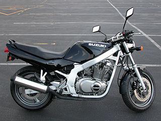 Suzuki GS500 motorcycle