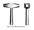 19th century knowledge gun flint first quartering hammer.PNG