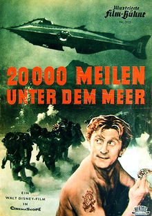 filme 20 mil leguas submarinas