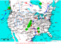 2005-04-06 Surface Weather Map NOAA.png
