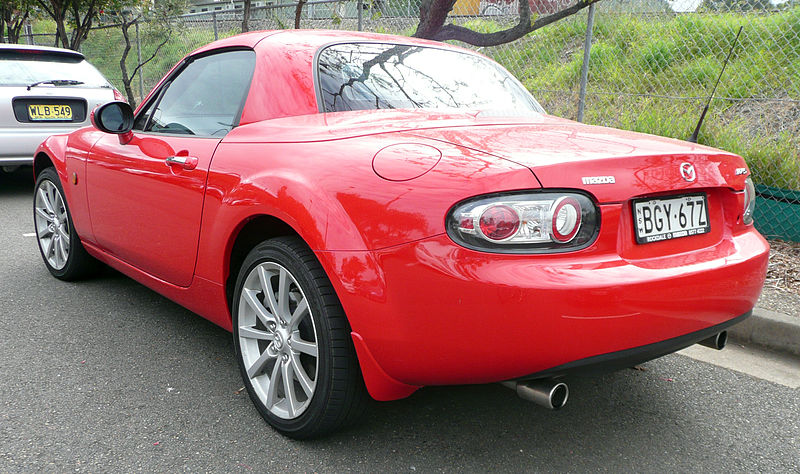 What The Tuck    Mazda MX5 and my kind of likey  if u must ask me