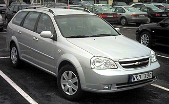 Daewoo Lacetti - Chevrolet Nubira wagon (Sweden)