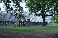 2005: Serpentine Gallery Pavilion, Londres.