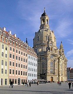 Dresden Frauenkirche Lutheran church in Dresden, Germany