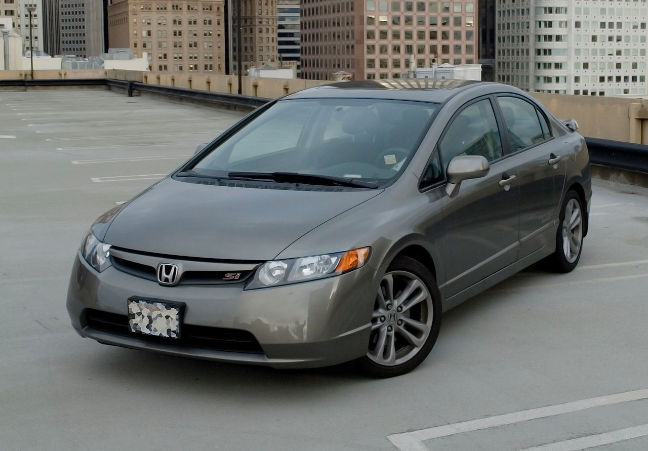 File:2006 Honda Civic Si jpg - Wikimedia Commons