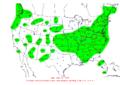 2007-02-14 24-hr Precipitation Map NOAA.png