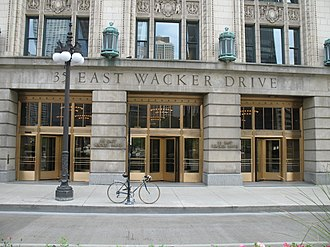 35 East Wacker - Image: 20070530 35 East Wacker Entrance