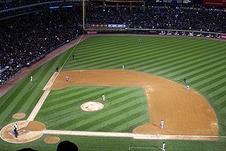 2008 American League Central tie-breaker game - The game was played at US Cellular Field in Chicago. Fans were encouraged to wear black clothing in support of the home team.