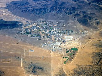Fort Irwin National Training Center - Aerial view of Fort Irwin