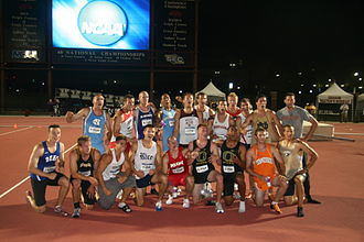 NCAA Men's Division I Outdoor Track and Field Championships - Image: 2009NCAADecathletes