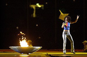 Christine Anu - Anu performs at the 2000 Summer Paralympics Opening Ceremony