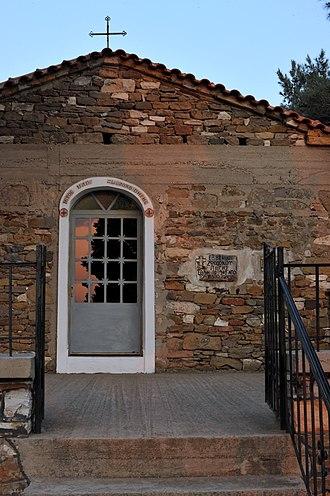 Gratini - Image: 20100410 Gratini Church Zoodohu Pigis Rhodope Thrace Greece 1