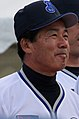 20101123 Akihiko Hourai,coach of the Yokohama DeNA BayStars, at Yokohama Stadium.JPG