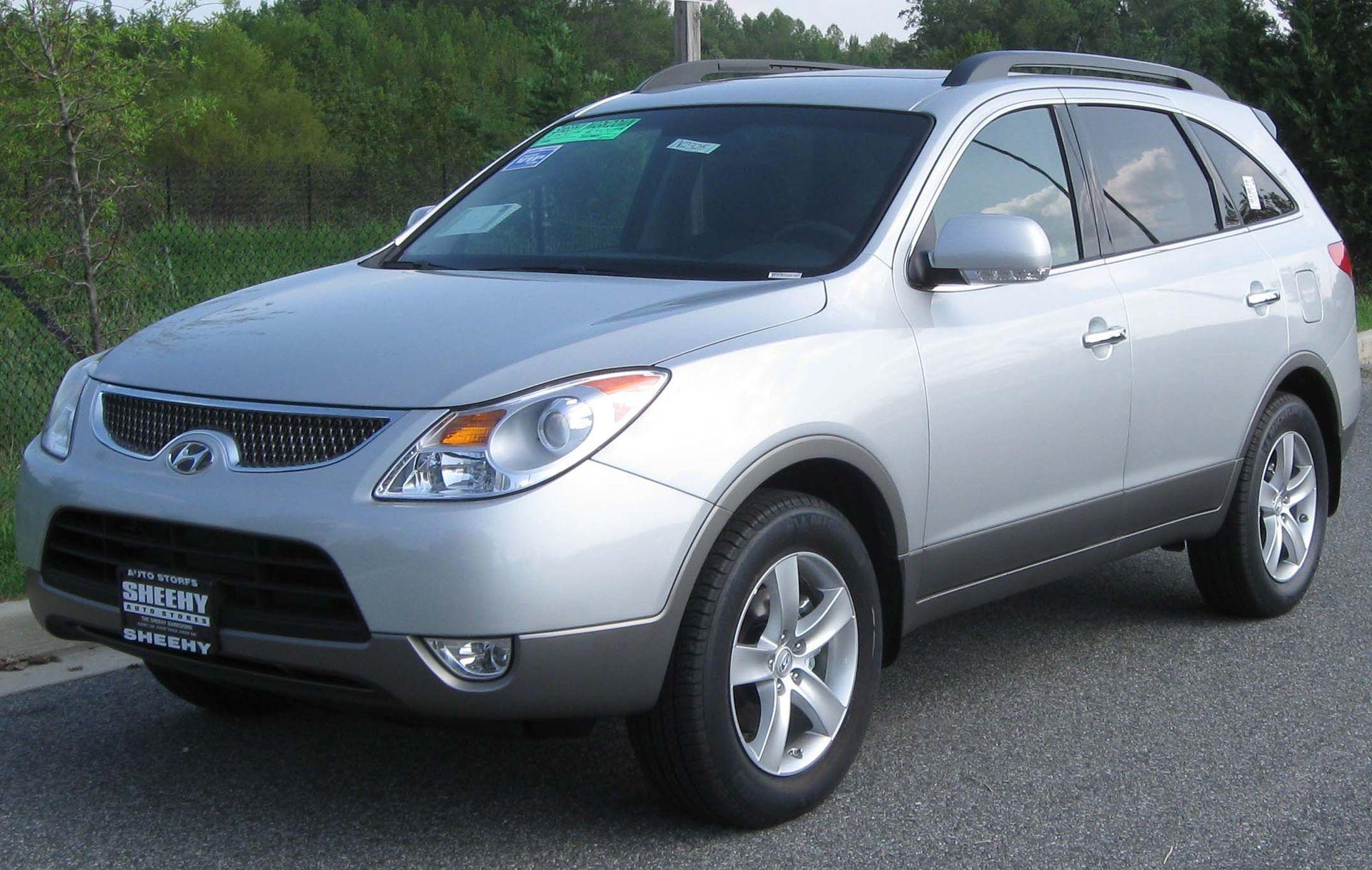 Px Hyundai Veracruz Limited on 2007 Hyundai Veracruz