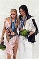 2010 Olympics Figure Skating Dance - Oksana DOMNINA - Maxim SHABALIN - Gold Medal - 8237a.jpg