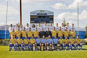Fort Lewis Skyhawks - The 2011 NCAA Division II national champion Skyhawk men's soccer team.