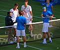 2011 Queen's Club Championships - López and Nadal vs. Bellucci and Sá 03.jpg
