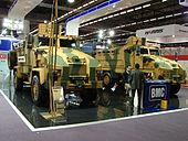 2012 Eurosatory BMC trucks