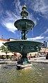 2012 Karwina, Frysztat, Żeliwna fontanna na rynku 03.jpg