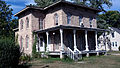2013-09-14 Homer B. DeLong House, 500 Milwaukee Rd., Clinton, WI, Corner View.jpg