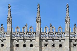 Pinnacle architectural element