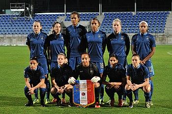 Franzosische Fussballnationalmannschaft Der Frauen Wikipedia
