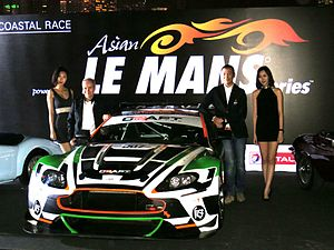 2013 Asian Le Mans Series - 2013 Asian Le Mans launch event at Royal Hong Kong Yacht Club on 5 March 2013.