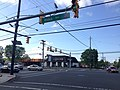 2014-05-17 09 10 00 Intersection of Olden Avenue (Mercer County Route 622) and Prospect Street (Mercer County Route 627) in Ewing, New Jersey.JPG