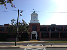 2014-08-30 09 47 31 view of ewing high school in ewing, new jersey