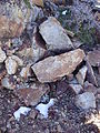 2014-10-09 10 50 02 Patches of snow on the summit of Granite Peak in Humboldt County, Nevada.JPG