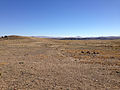2014-10-20 12 05 52 Faint tracks of the California Trail along Rock Springs Road (Elko County Route 763) about 21.7 miles north of Wilkins-Montello Road (Elko County Route 765) in Elko County, Nevada.JPG