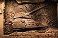 2014 9-18 Mukden Incident Museum, Shenyang, T-34 Tank Mural.jpg