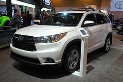 2014 Toyota Highlander XU50 at Canadian International AutoShow.jpg
