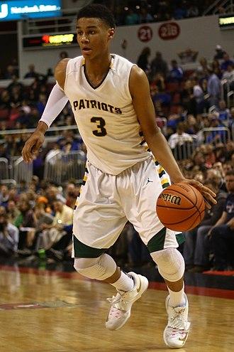 2017–18 Indiana Hoosiers men's basketball team - Justin Smith for Stevenson High School in 2015