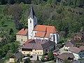 2017-04-30 (20) View from Schwabeckkreuz to Pfarrkirche St. Gotthard, Texingtal, Austria.jpg