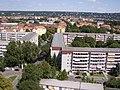 2017-08-07 Dresden Gruna Striesen Blasewitz Loschwitz - Blick von HH Rosenbergstraße 12 Etage 16 stereo links.jpg