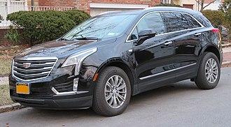 Cadillac XT5 - Image: 2017 Cadillac XT5 front 3.18.18