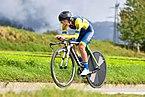 20180924 UCI Road World Championships Innsbruck Women Juniors ITT Olha Kulynych (UKR) DSC 7709.jpg