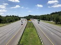 2019-07-15 12 37 05 View south along Interstate 95 from the overpass for Selford Road in Arbutus, Baltimore County, Maryland.jpg