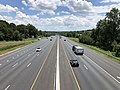 2019-07-18 13 17 57 View southeast along Interstate 695 (Baltimore Beltway) from the overpass for the ramp from Interstate 695 southeastbound to Interstate 95 northbound in Arbutus, Baltimore County, Maryland.jpg