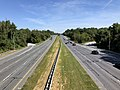 2019-09-03 11 29 30 View north along U.S. Route 29 (Columbia Pike) from the overpass for Maryland State Route 175 (Rouse Parkway) in Columbia, Howard County, Maryland.jpg