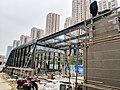 20190117 No.C Entrance under Construction of Juyuanzhou Station.jpg
