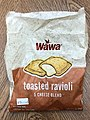 2020-11-19 15 49 40 The package for a Wawa five cheese blend toasted ravioli in the Franklin Farm section of Oak Hill, Fairfax County, Virginia.jpg