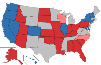 light blue retiring democrat dark red inbent republican light red retiring republican black unknown inbent gray no election house elections
