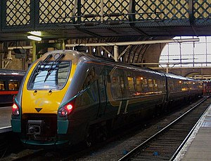 Hull Trains - Class 222 ''Pioneer'' at London King's Cross