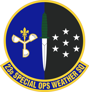 23rd Special Operations Weather Squadron - Image: 23 Weather Sq emblem (2009)