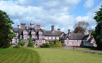 Seighford - Seighford Hall, viewed from the south