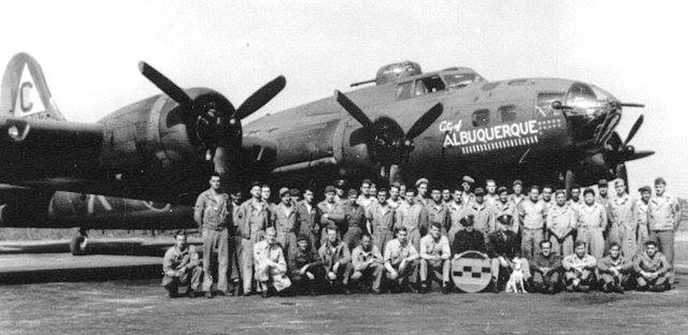 303rd Bombardment Group Boeing B-17F Flying Fortress 42-5392