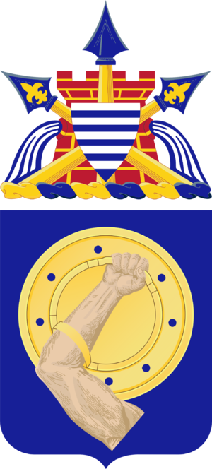 34th Armor Regiment - Coat of arms