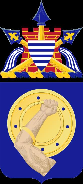 34th Armor Regiment - Coat of arms
